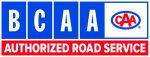 BCAA Authorized Roadside Assistance